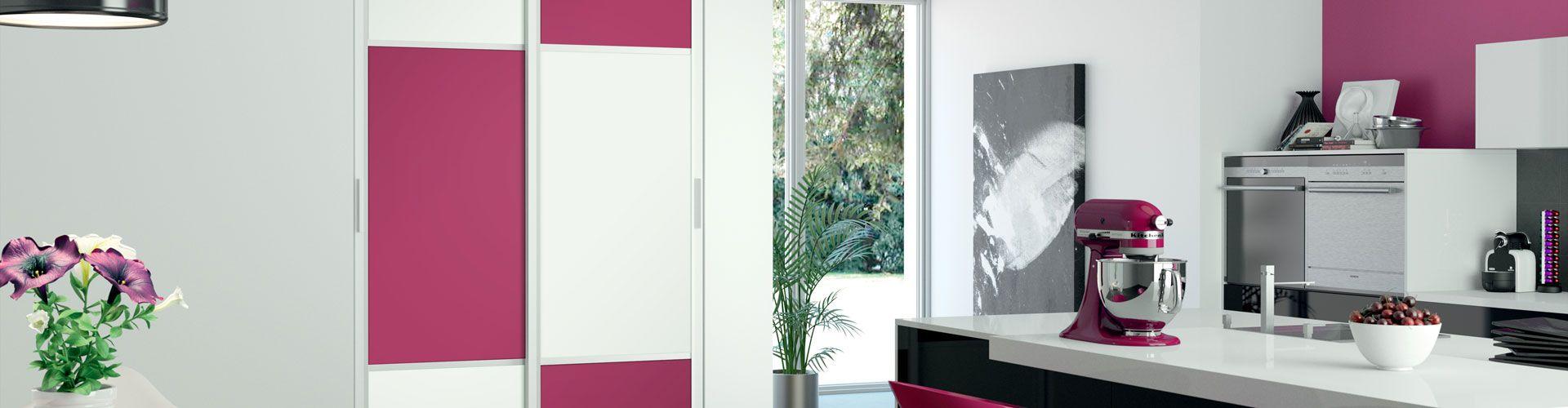 fa ades de placard pour d co pop collection hibiscus page 2 kazed. Black Bedroom Furniture Sets. Home Design Ideas